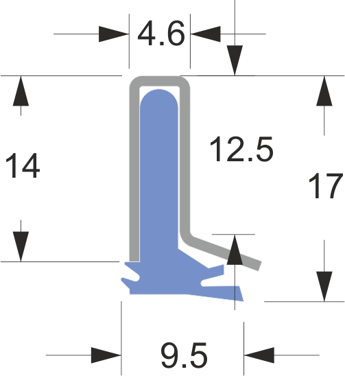 AB-0 series way wipers for machine