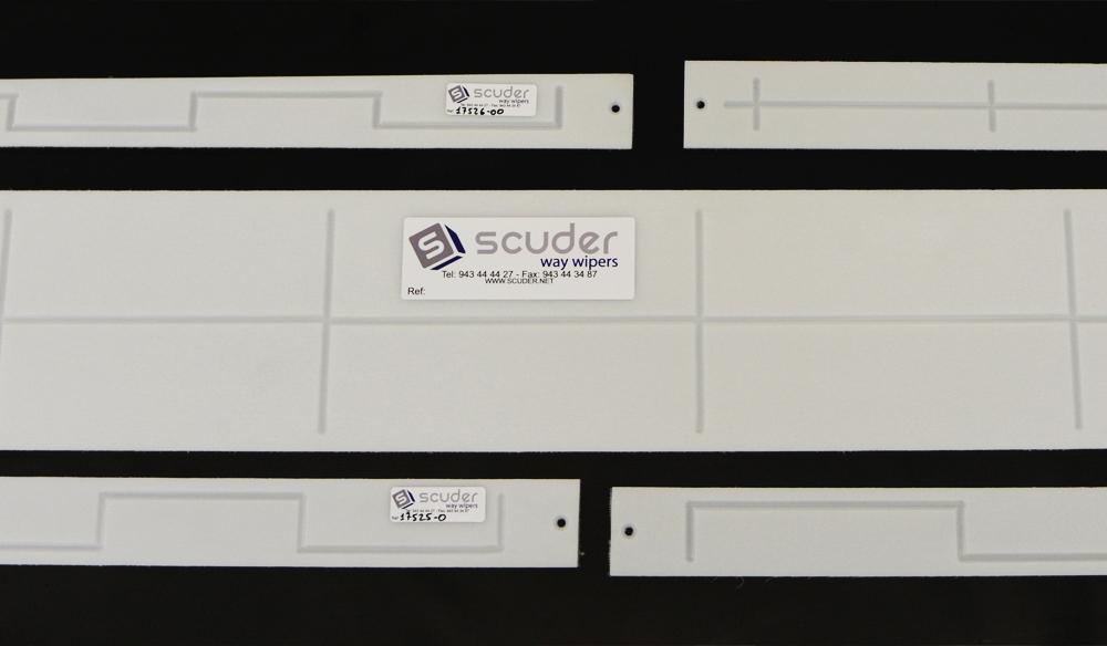 Slide guides Biplast-V® for machines