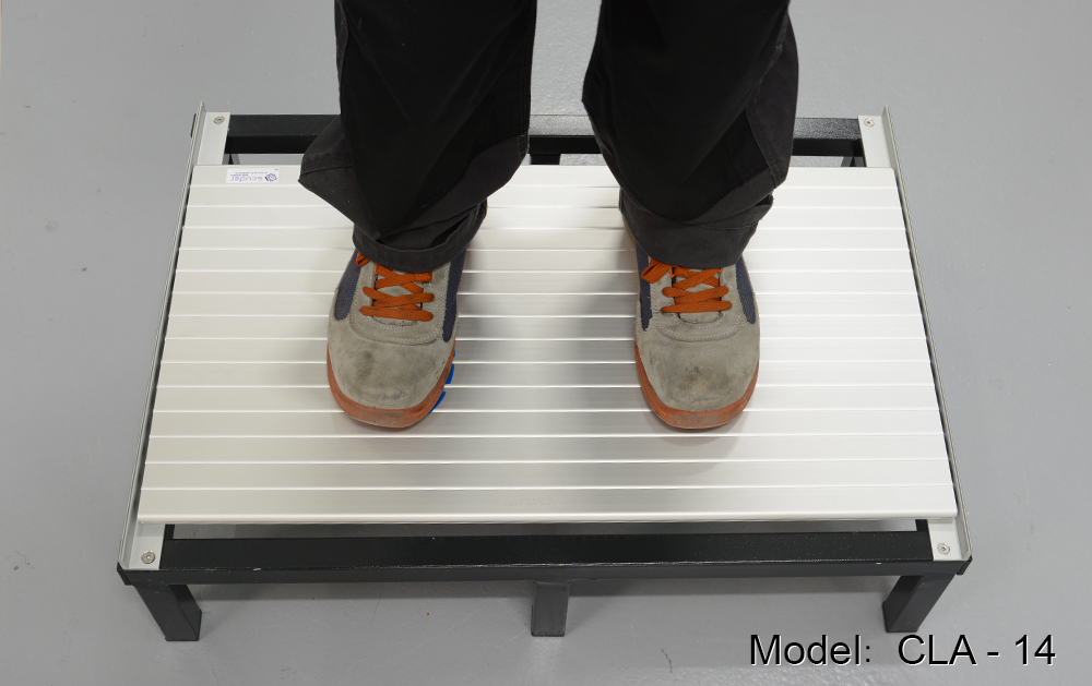 CLA-14 model stepped-on protection blinds for machine