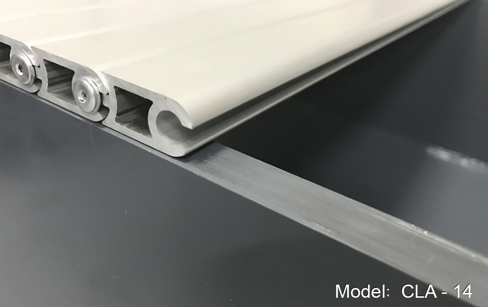 CLA-14 model stepped-on blinds to protect machines