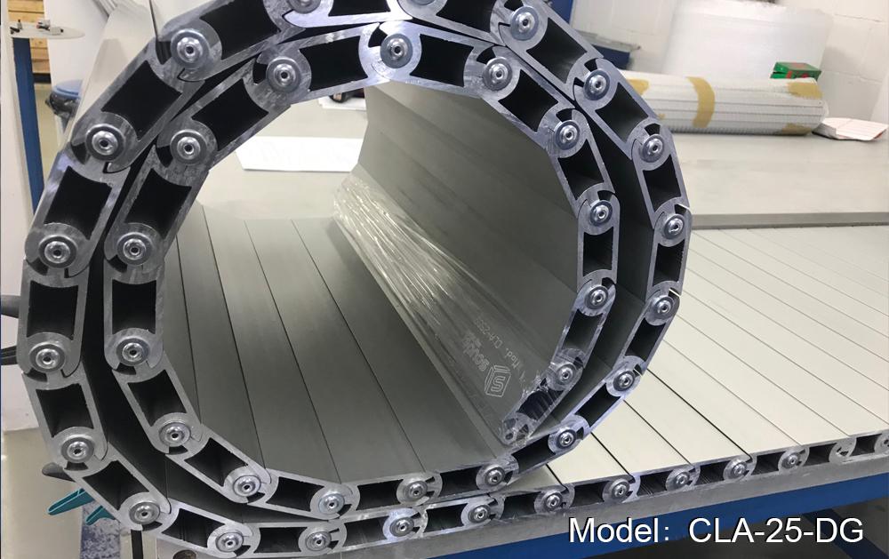 CLA-25-DG model machine tool step-on aluminium aprons