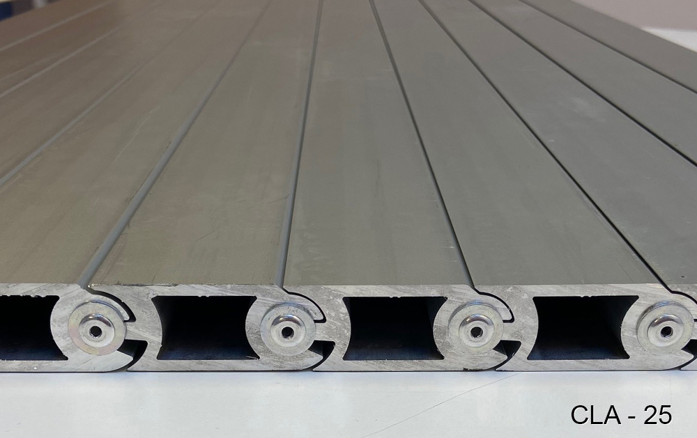 CLA-25 model steppable protection blinds for machines