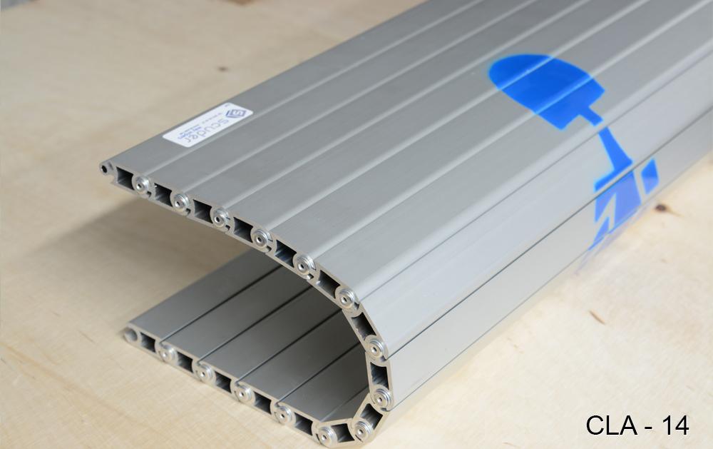 CLA-14 model machine tool stepp-on aluminium aprons