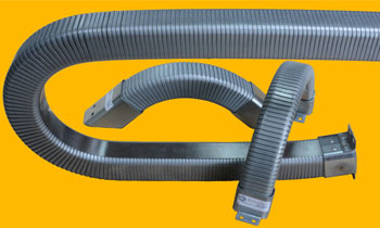 Conduit hoses to protect machinery wiring
