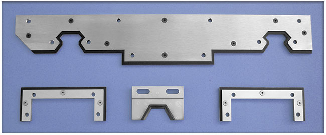 Examples of LS series way wipers for machinery