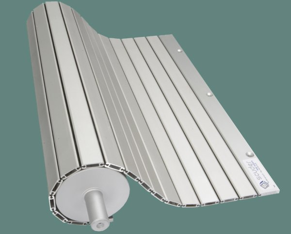 PHR-ENR steppable protection blinds for machinery