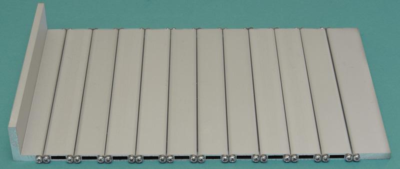 Protection blinds for machine tool model PHA-ENR