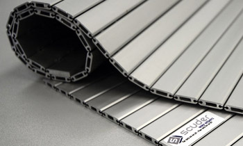 Protective blinds for machinery