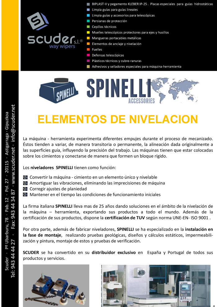 SPINELLI Catalogue