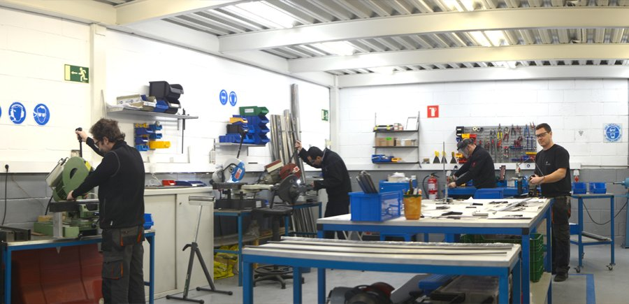 Scuder Way Wipers, the best solution for global machinery protection - Workshop