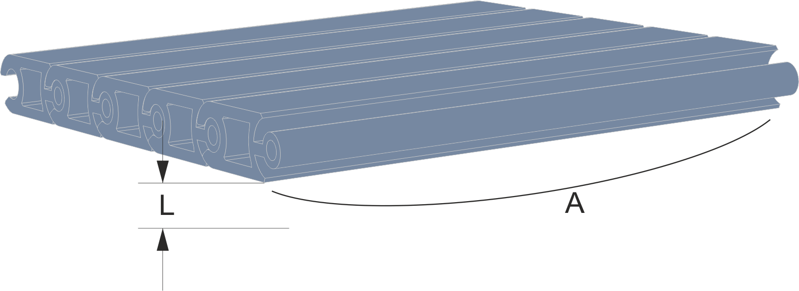 Technical data on walkable protection blinds to cover pits for machines